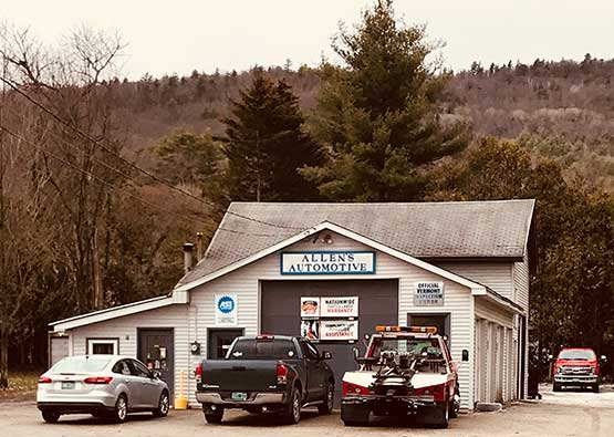 West Rutland Auto Mechanic shop