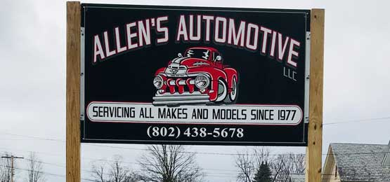 Auto Mechanic shop West Rutland - Allen's Automotive