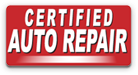 Certified Auto Repair Logo